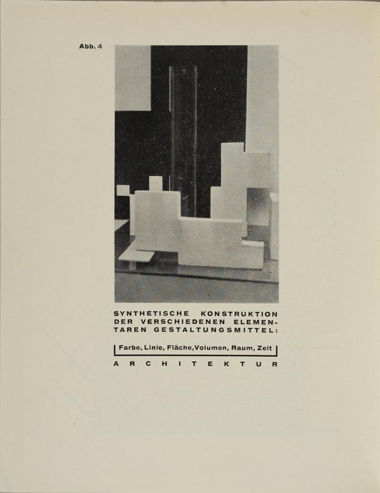 Theo van Doesburg, Grundbegriffe der neuen gestaltenden Kunst. Bd. 6, München 1925%0ATheo van Doesburg, Grundbegriffe der neuen gestaltenden Kunst. Bd. 6, München 1925-46