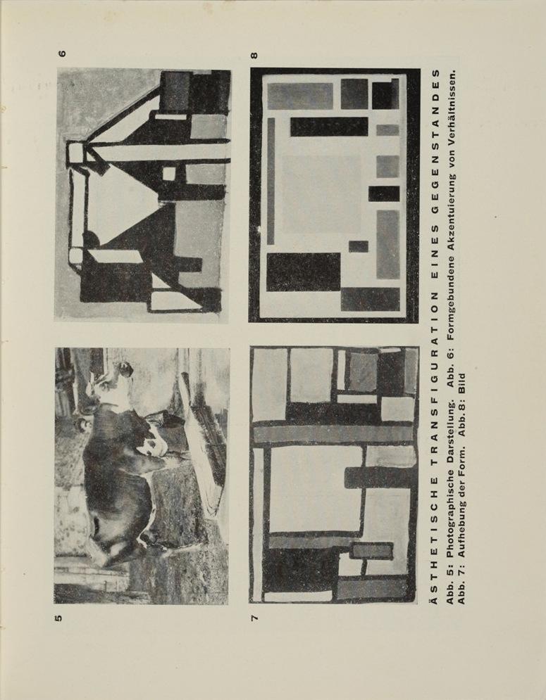 Theo van Doesburg, Grundbegriffe der neuen gestaltenden Kunst. Bd. 6, München 1925%0ATheo van Doesburg, Grundbegriffe der neuen gestaltenden Kunst. Bd. 6, München 1925-47