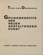 Theo van Doesburg, Grundbegriffe der neuen gestaltenden Kunst. Bd. 6, München 1925%0ATheo van Doesburg, Grundbegriffe der neuen gestaltenden Kunst. Bd. 6, München 1925-5