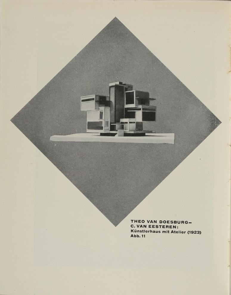 Theo van Doesburg, Grundbegriffe der neuen gestaltenden Kunst. Bd. 6, München 1925%0ATheo van Doesburg, Grundbegriffe der neuen gestaltenden Kunst. Bd. 6, München 1925-50