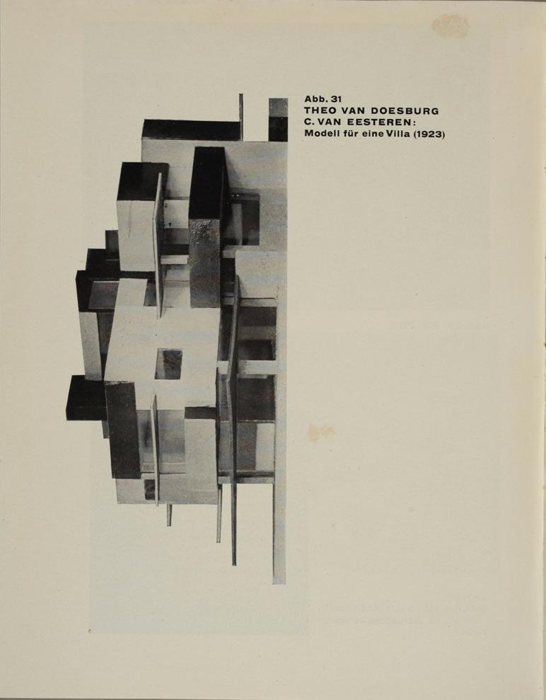 Theo van Doesburg, Grundbegriffe der neuen gestaltenden Kunst. Bd. 6, München 1925%0ATheo van Doesburg, Grundbegriffe der neuen gestaltenden Kunst. Bd. 6, München 1925-68