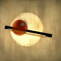 AL 3, 1926 László Moholy-Nagy Oil, industrial paints, and pencil on aluminum 40 x 40 cm