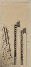 Casa a gradinata con ascensori esterni- studio