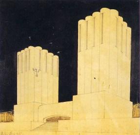 Mario Chiattone futurist building