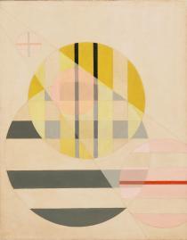 Z II László Moholy-Nagy. (American, born Hungary. 1895-1946). Z II. 1925. Oil on canvas, 37 5:8 x 29 5:8