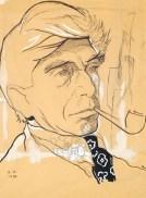 Портрет Осипа Цадкина - Анненков Ю. П. -- Артпоиск - русские художники