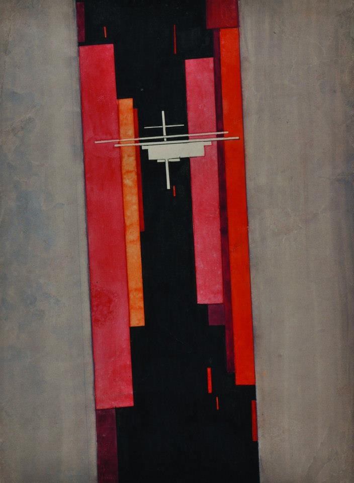 I.Chashnik. Suprematic composition. 1925. SEPHEROT Foundation