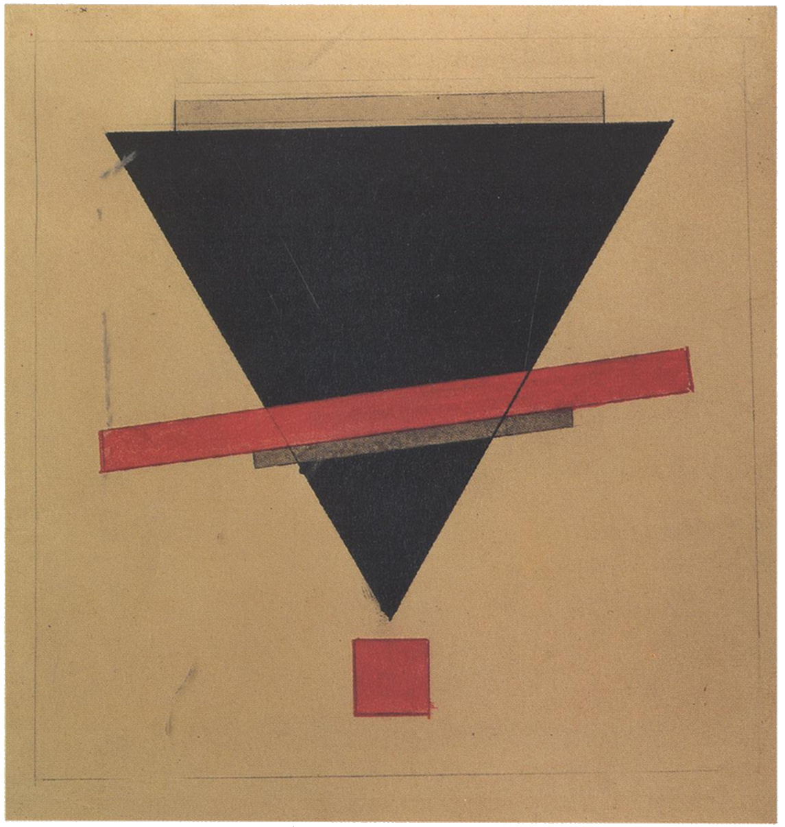 Il'ia Chashnik, Red Square UNOVIS 1921