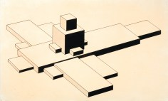 Ilja Chashnik, The architectural design, 1926-1927
