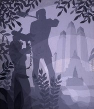 Aaron Douglas, The Founding of Chicago, circa 1933, Gouache on paperboard, 14-3:4 × 12-3:8%22, Spencer Museum of Art, The University of Kansas, ...