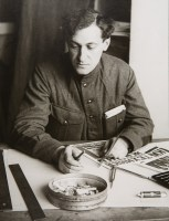 Artist, Producer, and Publisher Alexei Gan, 1924