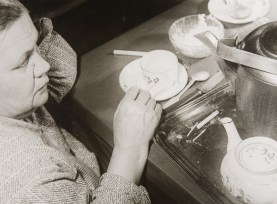 The artist's mother at the table, 1928