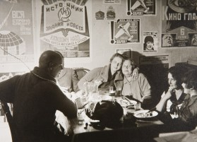 In the workshop of Rodchenko and Stepnova, 1925
