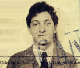 Meyer Schapiro's passport photo