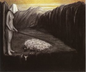 Alfred Kubin - Des Menschen Schicksal III ca.1902-03