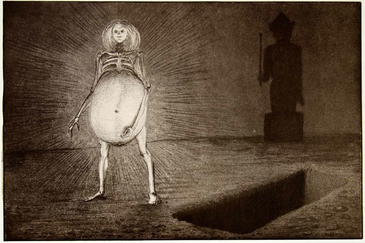 Alfred Kubin, The Egg 1901-1902
