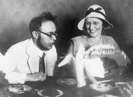 Lady Astor and Karl Radek Joking