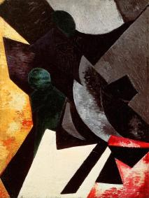 Aleksandra Ekster, Non- Objective Composition, 1917 Oil on canvas, 71 x 53 era