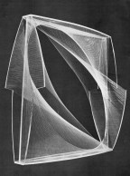 Linear Construction by Naum Gabo (1942-43)