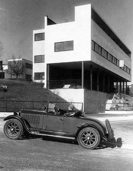 Le Corbusier und Pierre Jeanneret, Wohnhaus in der Weißenhofsiedlung, Stuttgart, 1927