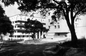 Otto Feucht, Stuttgart- Weißenhofsiedlung - Haus von Peter Behrens um 1927
