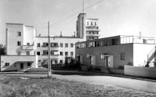 Robert Bothner, Stuttgart- Weißenhofsiedlung - Häuser von Mart Stam und Peter Behrens 1930