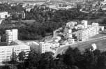 Stuttgart- Luftbild der Weißenhofsiedlung um 1930