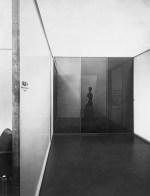 Weißenhofsiedlung, Halle 4, Spiegelglashalle, Stuttgart 1927 Gewerbegebäude, Architektur Anlaß- Ausstellung, Die Wohnung, 1927, Stuttgart