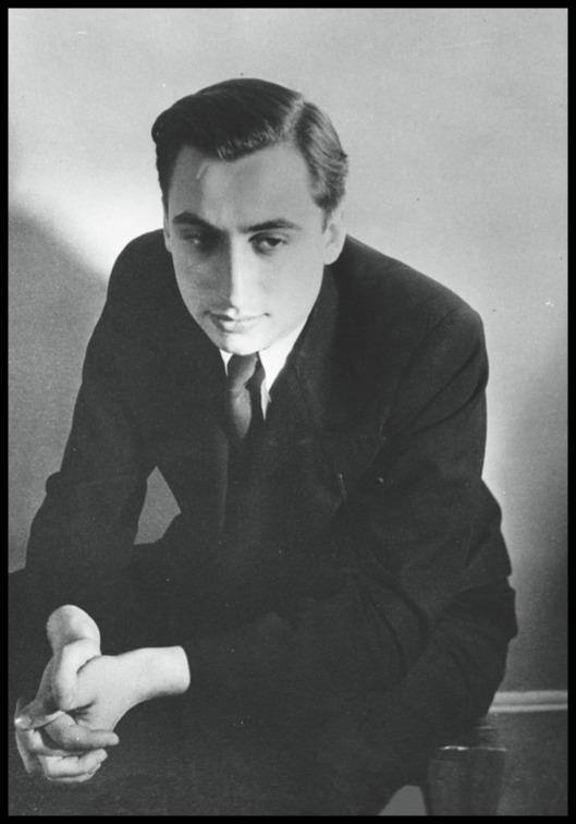 Young Roland Barthes