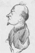 N.I. Bukharin, self-portrait 17 February 1927