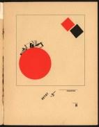 Супрематический сказ про два квадрата — Эль Лисицкий (1922 год) 05