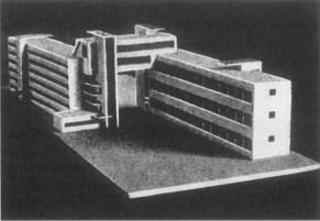 A-1 Dom Kommuna, from Sovremennaia Arkhitektura 4-5 (1927), pg 130