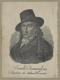 Bildnis des Camille Desmoulins - Berlin, Staatsbibliothek zu Berlin - Preußischer Kulturbesitz, Handschriftenabteilung