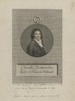 Bildnis des Camille Desmoulins François Joseph Etienne Beisson - Verlagsort- Paris - 1793 - Münster, LWL-Museum für Kunst und Kultur