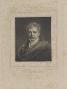 Bildnis des F. W. J. v. Schelling Albrecht Fürchtegott Schultheiß - 1840_1900 - Leipzig, Universitätsbibliothek Leipzig