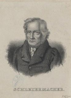 Bildnis des Friedrich Ernst Daniel Schleiermacher - Halberstadt, Gleimhaus
