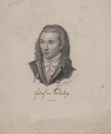 Bildnis des Friedrich Leopold von Hardenberg Eduard Eichens - 1845 - Berlin, Staatsbibliothek zu Berlin