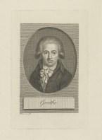 Bildnis des Goethe Christian Friedr. Traugott Uhlemann - 1792 - Leipzig, Universitätsbibliothek Leipzig, Porträtstichsammlung