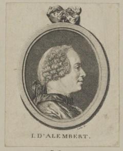 Bildnis des I. D ' Alembert Gottlob August Liebe - nach 1775 - Münster, LWL-Museum für Kunst und Kultur