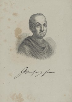 Bildnis des Johann Georg Hamann Monogrammist J. B. (1801) - 1801_1866 - Berlin, Staatsbibliothek zu Berlin