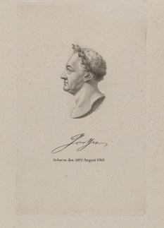 Bildnis des Johann Wolfgang von Goethe Anton Tepplar - 1819_1849 - Münster, LWL-Museum für Kunst und Kultur