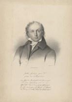Bildnis des Jokob Friedrich Fries Müller, H. (1830) - Königliches Lithographisches Institut - 1830 - Leipzig, Universitätsbibliothek Leipzig