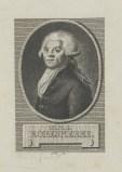 Bildnis des M. M. I. Robespierre Andreas Stöttrup - um 1790 - Coburg, Kunstsammlungen der Veste Coburg