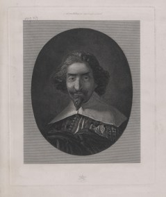 Bildnis des Miguel de Cervantes Saavedra Pascal, Jacques - 1826_1880 - Berlin, Staatsbibliothek zu Berlin