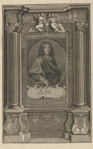 Bildnis des Mr. Bayle Johann Ulrich Kraus - 1715 - Halberstadt, Gleimhaus