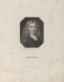 Bildnis des Pierre Bayle Martin Esslinger - Gebrüder Schumann - faktischer Entstehungsort- Zwickau - 1818_1832 - Halberstadt, Gleimhaus