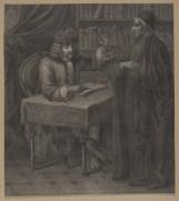 Bildnis des Voltaire - Berlin, Staatsbibliothek zu Berlin - Preußischer Kulturbesitz, Handschriftenabteilung