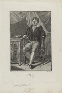 Bildnis Johann Gottlieb Fichte Bonini, ? - um 1810? - Münster, LWL-Museum für Kunst und Kultur