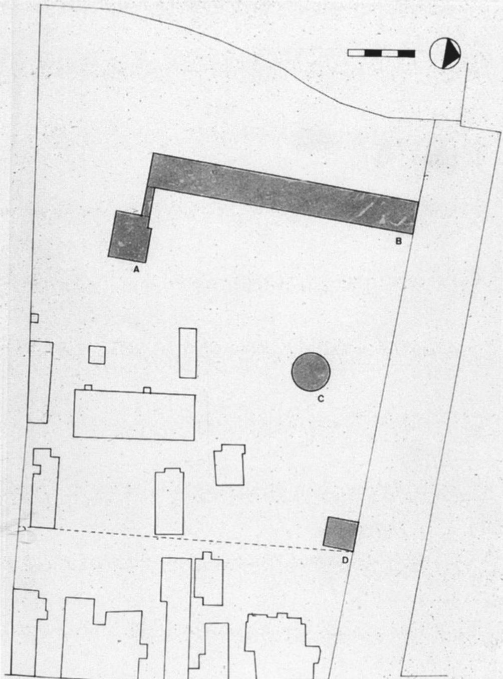 Proposed Site Plan For The Narkomfin Communal House 6 August 1929