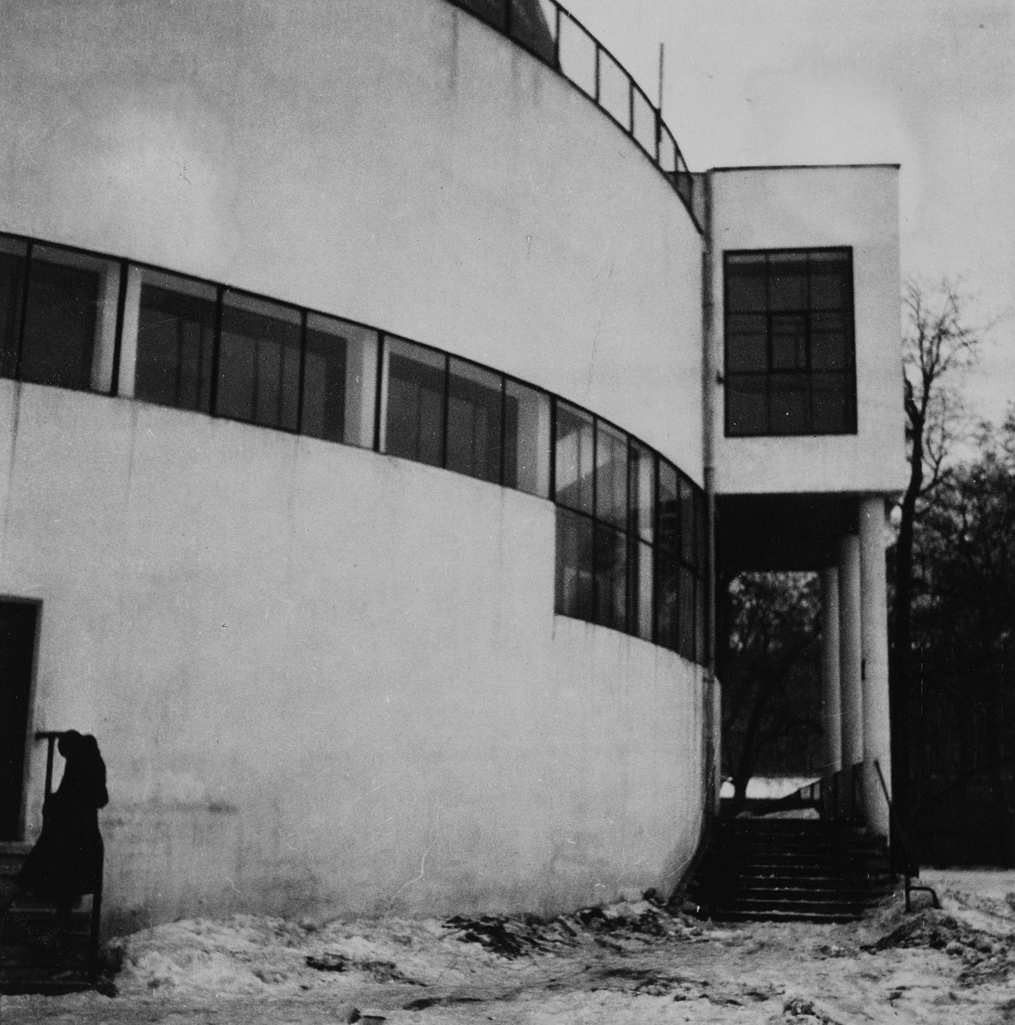 Robert Byron, the planetarium in Moscow, Architects - Barshch, Mikhail (Osipovich) Sinyavski, M.I. 1929